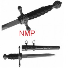 A Collectors German Nazi Officer Dagger Black (1086)