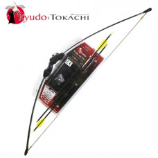 15lb Draw Black Tokachi Archery Recurve Bow On Blister (RB008)
