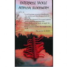 Enterprise Tackle ARTIFICIAL IMITATION BAITS Bloodworm