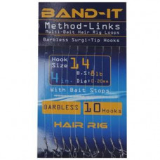 Band It Hair Rig Method Links Size 14 (BAN130)