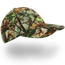 Camouflage Cap With Led Lights, green