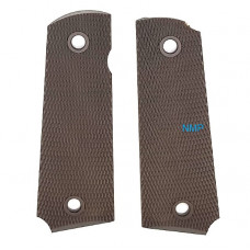 Golden Eagle 1911, Hi-capa 5.1 and 4.3 Plastic Pistol Grips Brown MC-37