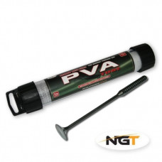 NGT Narrow Tube 7m x 25mm PVA Mesh With Free Plunger