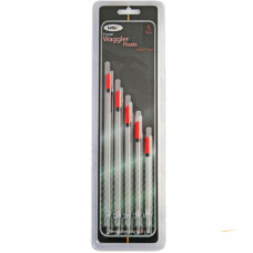 NGT Pack of 5 Wide Tip Waggler Floats