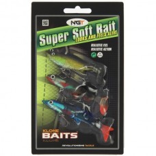 Pack of 3 Super Soft Baits (SB-007)