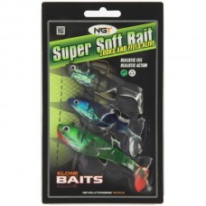 Pack of 3 Super Soft Baits (SB-009)