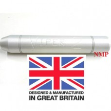 1/2 inch UNF Thread VIPER 2 Silver airgun silencers Tapered unproofed Made in UK
