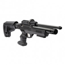 Webley Eclipse PCP Air Pistol Max 5.5ft/lbs Detachable Black Polymer Adjustable Ambidextrous Stock 12 shot .22 calibre