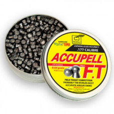 Webley AccuPell FT Field Target Competition Domed .177 calibre Air Gun Pellets 4.52mm 8.64 grains tin of 500
