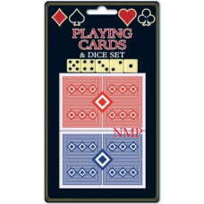 2 PACK PLAYING CARDS & DICE