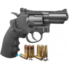 Crosman SNR357 SNR Snub Nose Revolver CO2 Powered, Dual Ammo Full Metal .177 pellet, 4.5mm BB