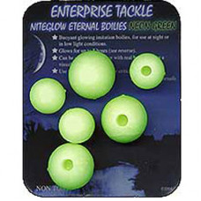 Enterprise Tackle ARTIFICIAL, IMITATION BAITS Niteglow Eternal Boilies NEON BLUE